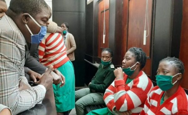 MDC trio exposed: CCTV footage shows them at fast food outlet at time of alleged abduction